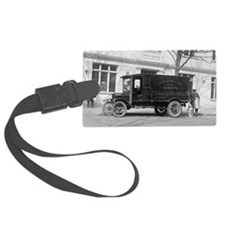 Lewinsville Dairy Truck Luggage Tag