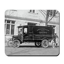 Lewinsville Dairy Truck Mousepad