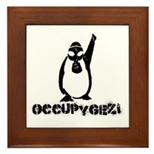 Occupy Gezi - Diren Gezi Parki Framed Tile