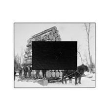 Loggers At Work Picture Frame