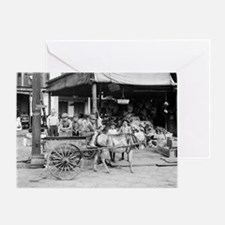 New Orleans French Market Greeting Card