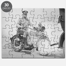 Motorcycle Policeman on Duty Puzzle