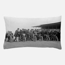 Motorcycle Races Pillow Case