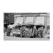 New York City Lunch Carts 3'x5' Area Rug