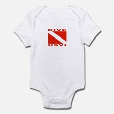 Dive U.S.V.I. Infant Bodysuit