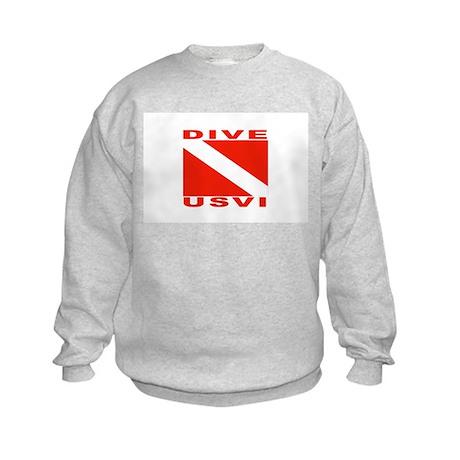 Dive U.S.V.I. Kids Sweatshirt