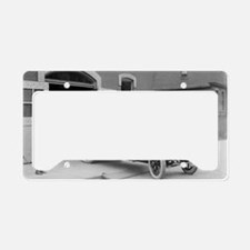 Packard Fire Squad License Plate Holder