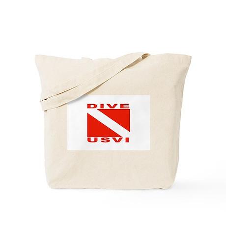 Dive U.S.V.I. Tote Bag