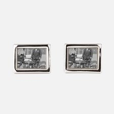 Motorcycle Police Officer Cufflinks