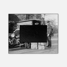 Police Capture Bootleggers Car Picture Frame