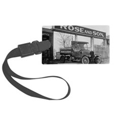 Coal Delivery Truck Luggage Tag