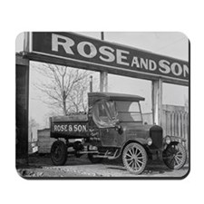 Coal Delivery Truck Mousepad