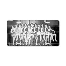 Showgirls Aluminum License Plate