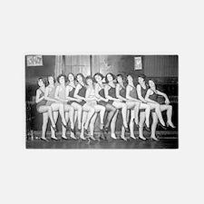 Showgirls 3'x5' Area Rug