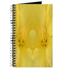 Yellow Hawaii Hibiscus Journal
