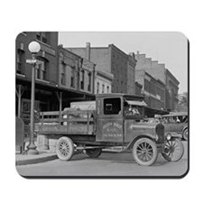Poultry Delivery Truck Mousepad