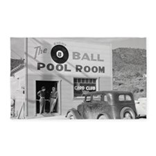 The Eight Ball Pool Room 3'x5' Area Rug