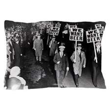 We Want Beer! Protest Pillow Case