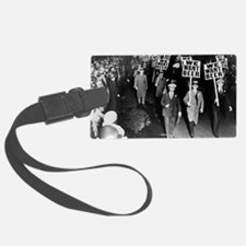 We Want Beer! Protest Luggage Tag