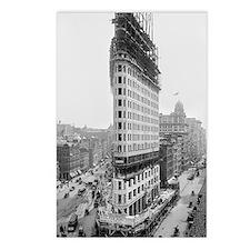 Flatiron Building Constru Postcards (Package of 8)