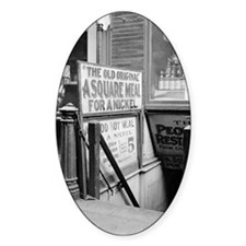 The Five Cent Restaurant Decal