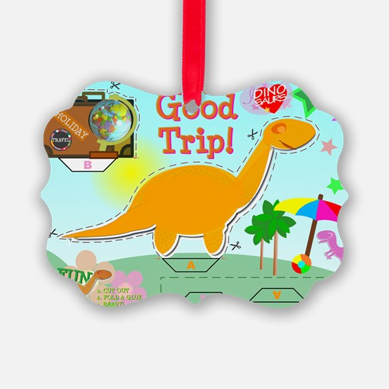 Good Trip Cartoon Dinosaur Craft Ornament