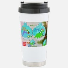 Merry Christmas Cartoon Stainless Steel Travel Mug