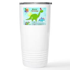 Cute Christmas Cartoon  Travel Mug