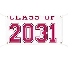 Class of 2031 (Pink) Banner
