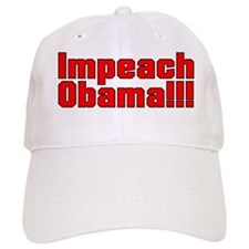 Impeach Obama Stop the lies Baseball Cap
