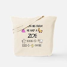 Zoe had a Farm Tote Bag