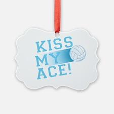 KissMyAce(volleyball) copy Ornament