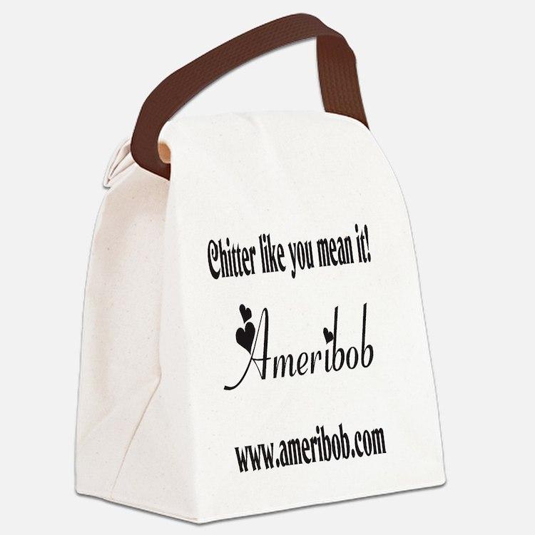 Team Minion back Canvas Lunch Bag
