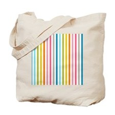 stripes background colorful Tote Bag