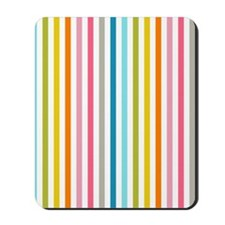 stripes background colorful Mousepad