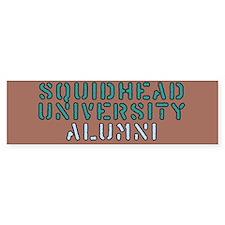 SQUIDHEAD U. Bumper Bumper Sticker