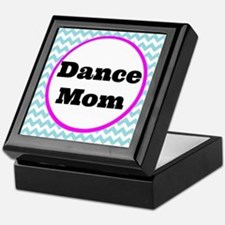 Dance Mom Car Magnet (blue/white/pink Keepsake Box