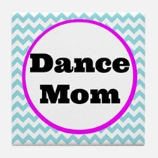 Dance Mom Car Magnet (blue/white/pink Tile Coaster