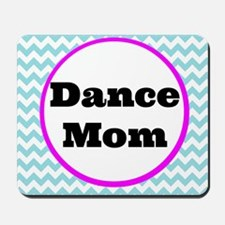 Dance Mom Car Magnet (blue/white/pink) Mousepad