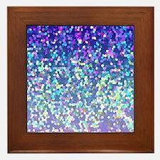 Glitter 2 Framed Tile