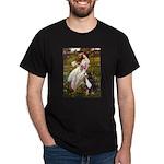 Windflowers & Bernese Dark T-Shirt