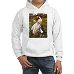 Windflowers & Bernese Hooded Sweatshirt