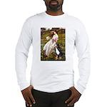 Windflowers & Bernese Long Sleeve T-Shirt