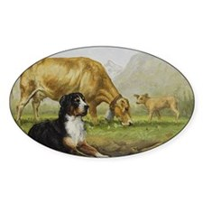 Greater Swiss Mountain Dog and Brow Decal
