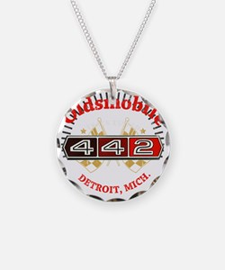 Olds 442 Muscle dark Necklace
