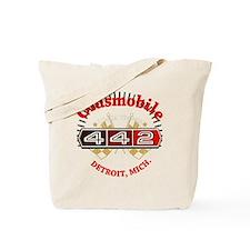 Olds 442 Muscle dark Tote Bag