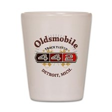 Olds 442 Muscle Shot Glass