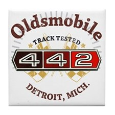 Olds 442 Muscle Tile Coaster