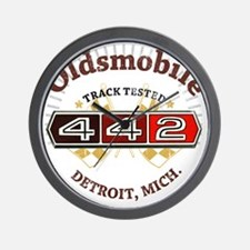 Olds 442 Muscle Wall Clock