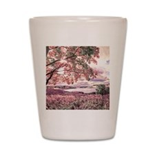 Autumn Landscape Shot Glass